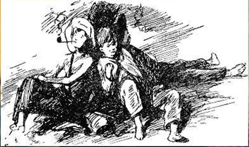 Иллюстрация В. Н. Горяева к пр-ю М.Твена Приключения Тома Сойера (23).jpg