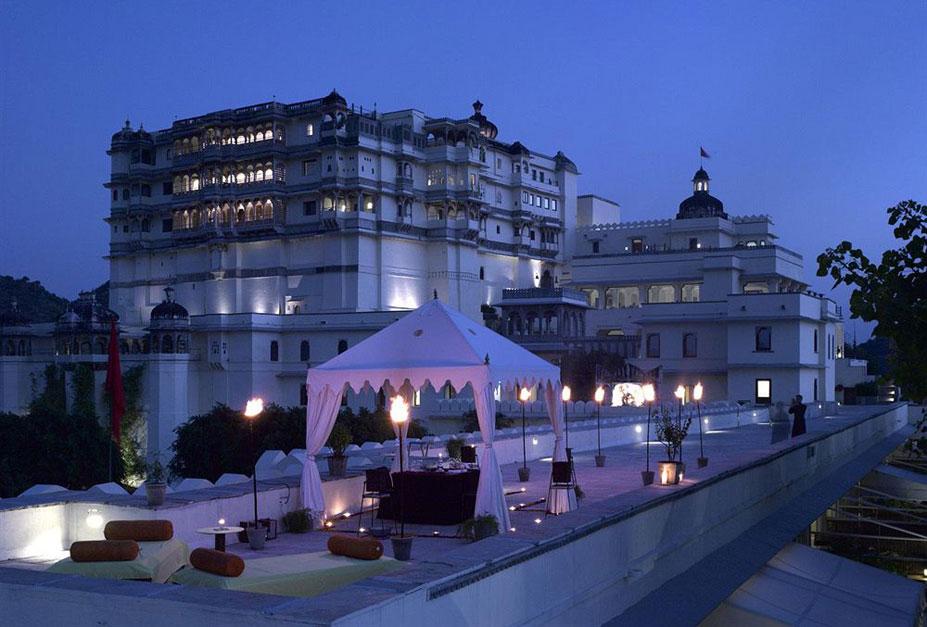 20 самых романтичных отеля Индии
