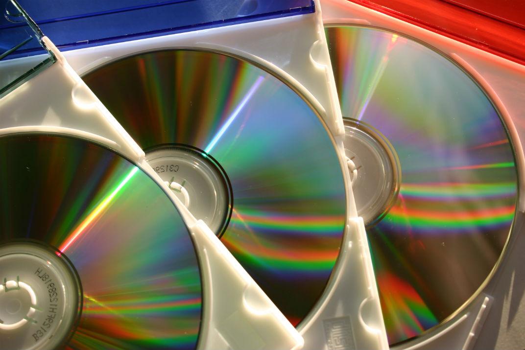 Как очистить DVD диск
