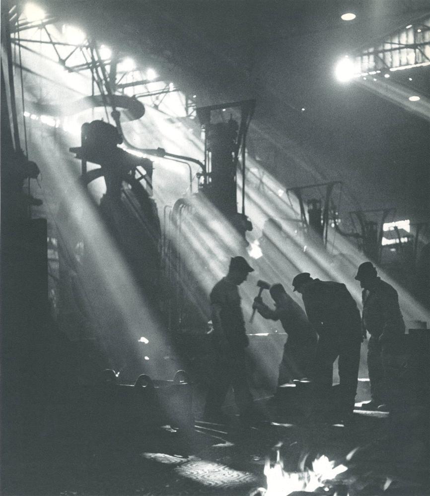 1930-е. На заводе Рено. Булонь-Бийанкур