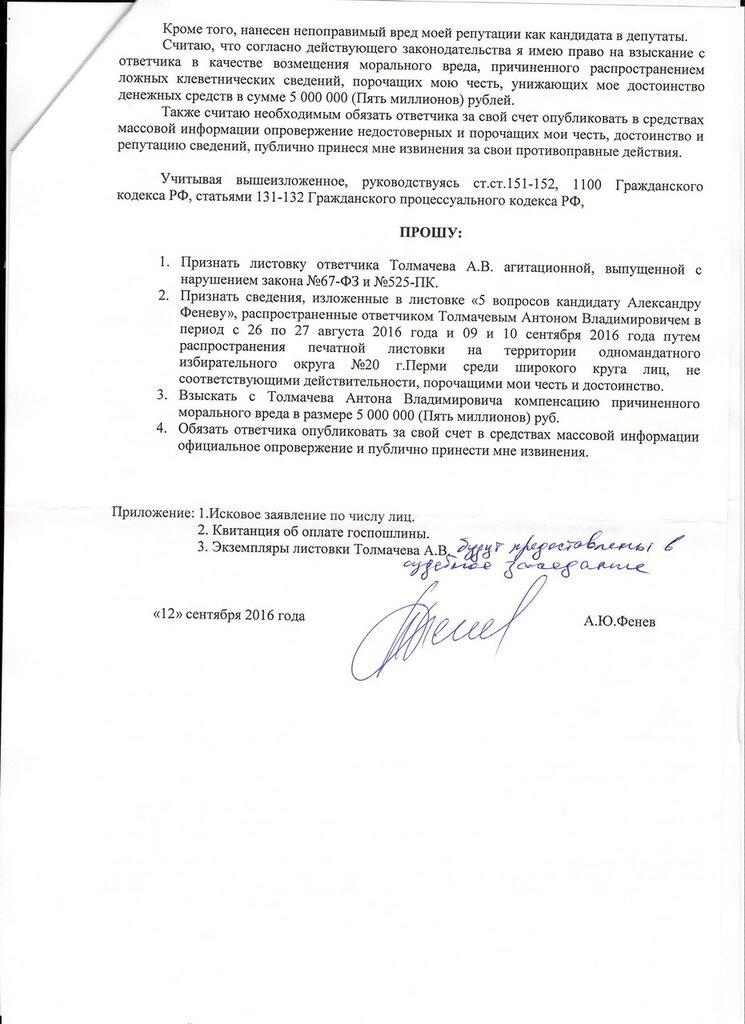 Исковое заявление Александра Юрьевича Фенёва 2.jpg
