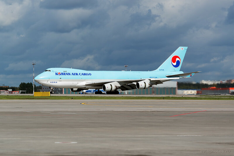 Boeing 747-4B5F (HL7448) Korean Air Cargo 074_D807319