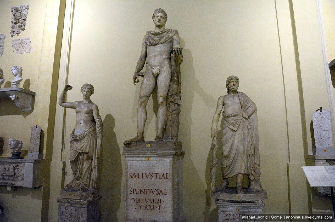 Музей Кьярамонти. Ватикан