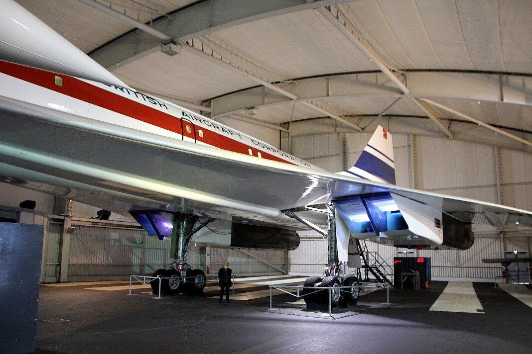 Музей авиации и космонавтики в Ле Бурже. Конкорд