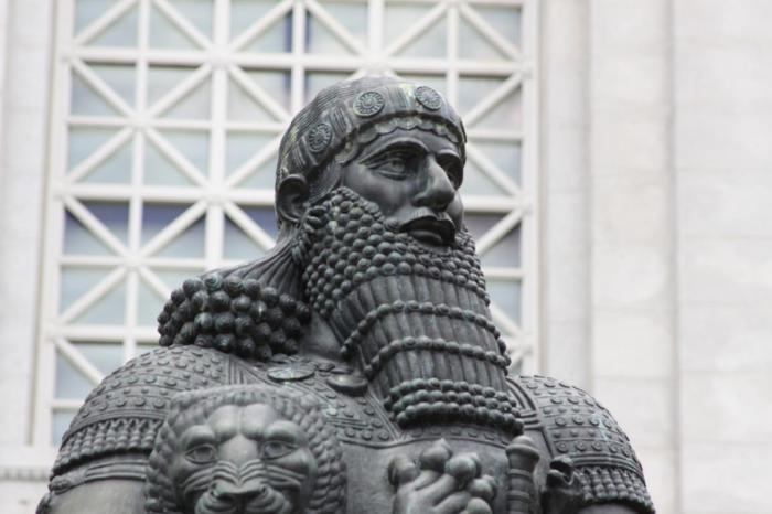 Вавилонский царь Хаммурапи.  В годы правления царя Хаммурапи (1793-1950 гг. до н. э.) террит
