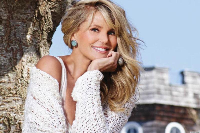 Секреты красоты 62-летней Кристи Бринкли (5 фото)