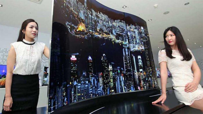 Razor Double Sided TV – телевизор для двоих. Компания LG нашла способ решить миллионы семейных