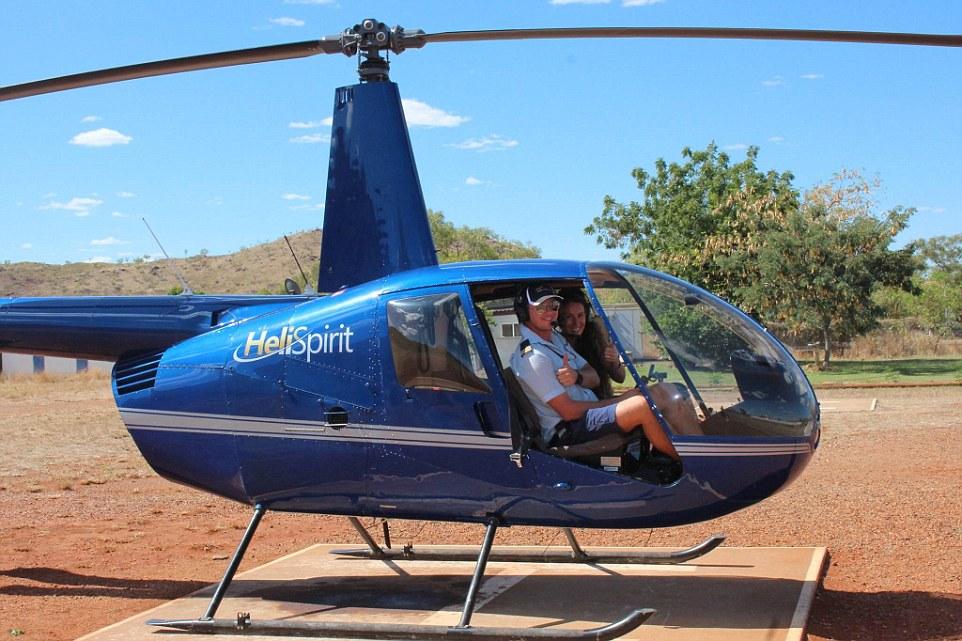 Из Австралии Анна улетала на вертолете. Вот как ей это удалось: «Я обратилась в чартерную компанию в