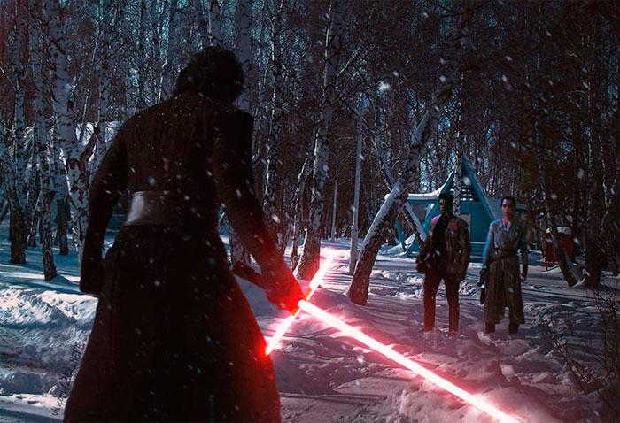« Звездные войны : Пробуждение силы».