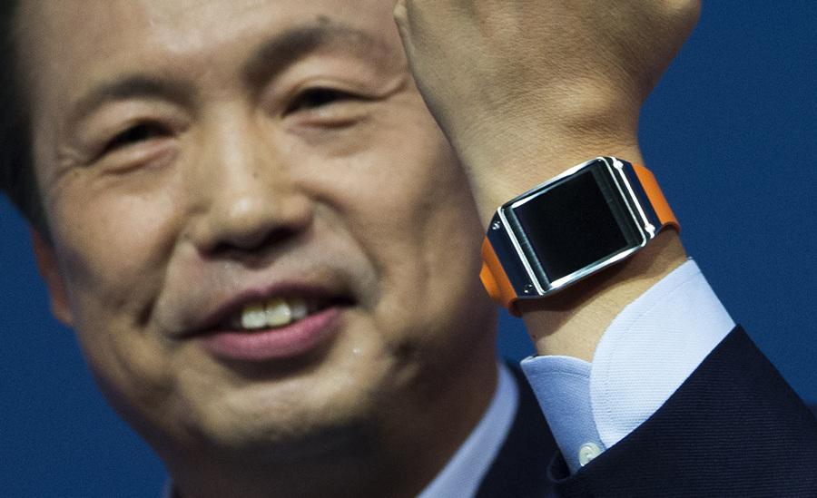 Samsung презентовала смартчасы Galaxy Gear