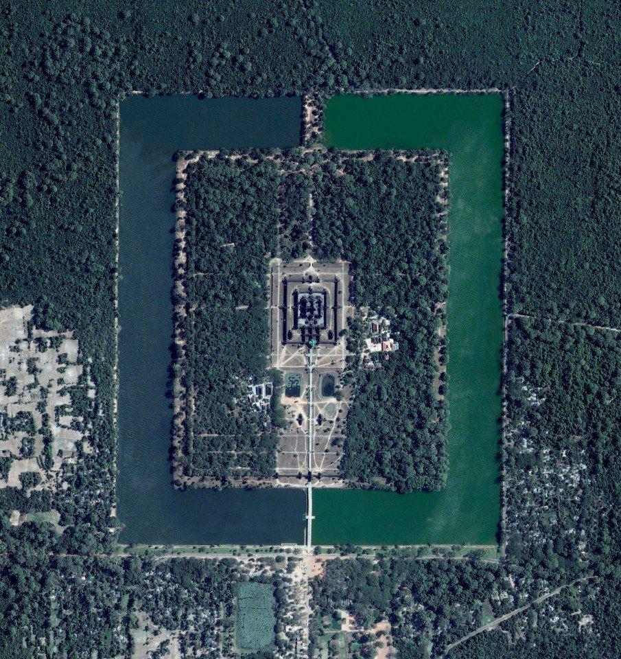 Ошеломляющие спутниковые изображения, которые перевернут ваше представление о Земле