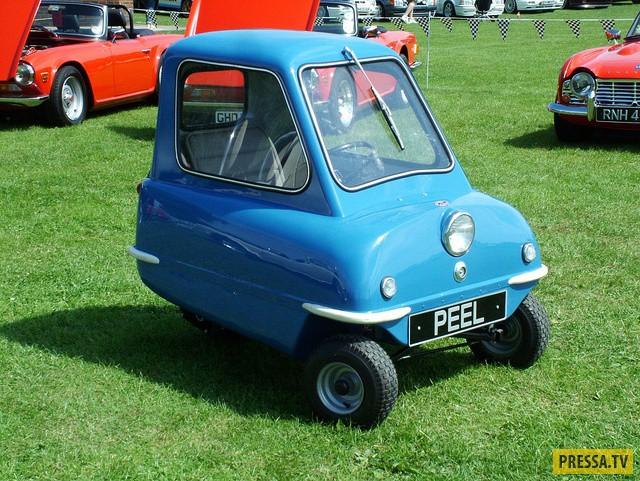 Британский однодверный и одноместный автомобильчик вошел в историю как самый маленький и самый легки