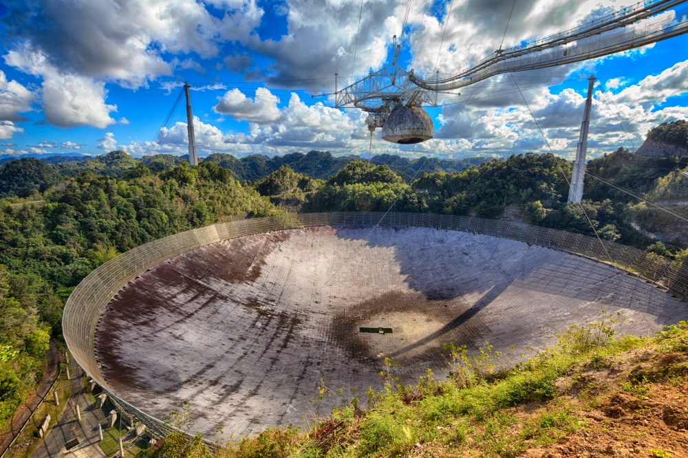 © depositphotos  Аресибо— это прямо гигантская обсерватория, мыдаже непредполагали, что она