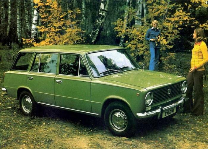 3. ВАЗ-2102 «Жигули» Советский заднеприводный универсал под названием ВАЗ-2102 «Жигули», который сер