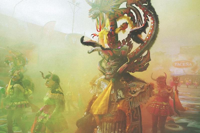 26. Маска дьявола со змеей – один из главных символов Диаблады.
