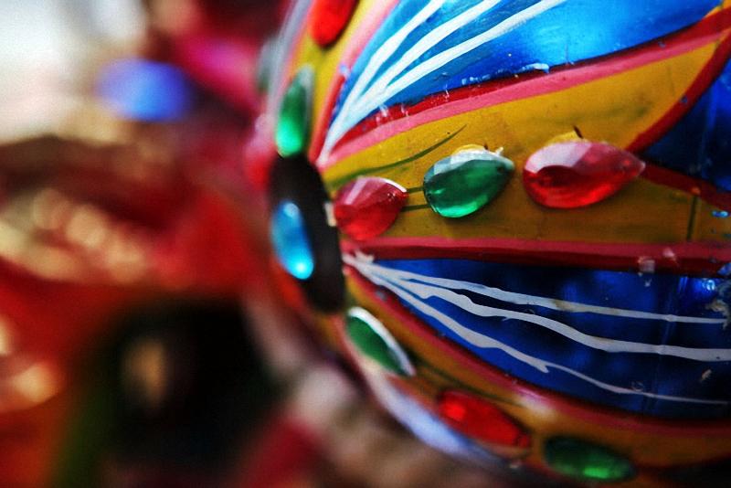39. Особое внимание при оформлении маски уделяется глазному яблоку диавола.