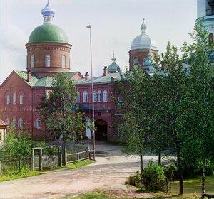 Троицкий собор в Леушинском монастыре. 1909 год