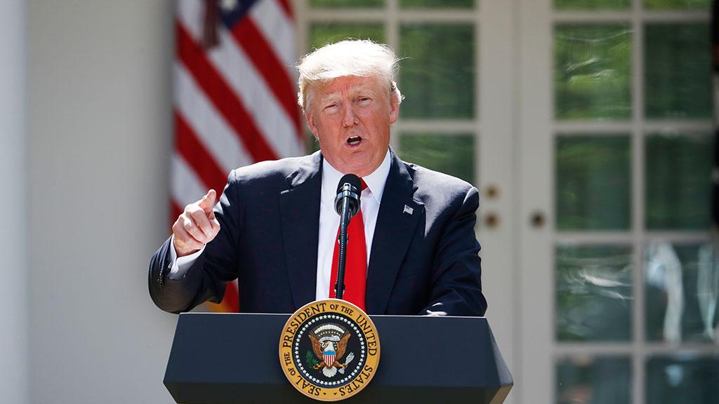 Трамп пояснил иностранным руководителям решение отказаться отПарижского соглашения