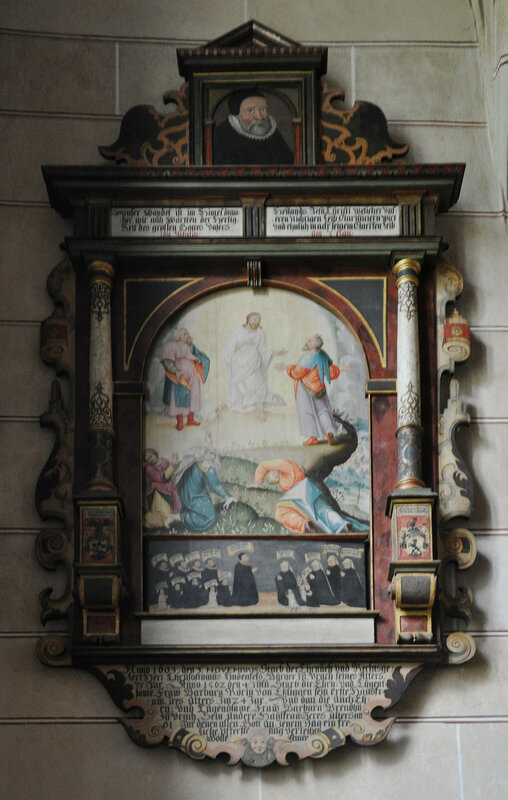 Bad Urach St Amandus Epitaph Chrisostomus Lindenfels