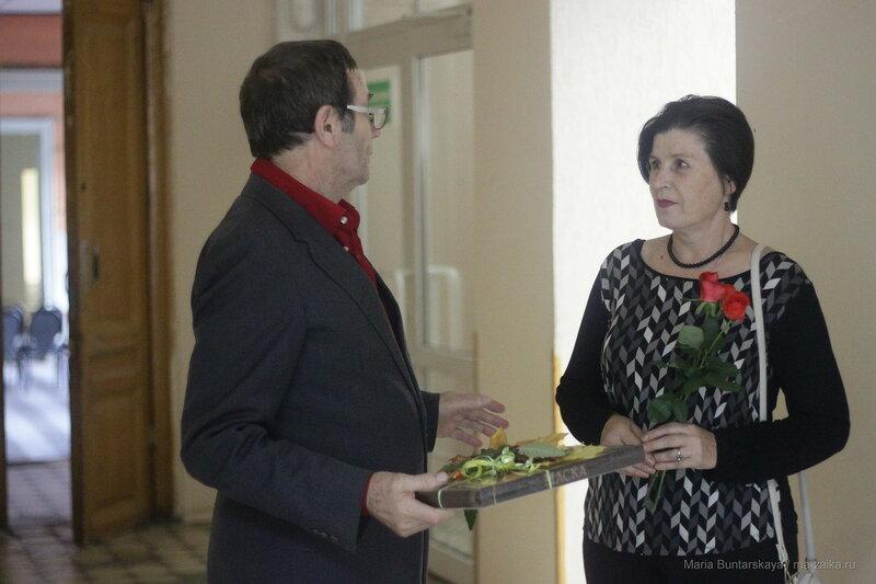 Выставка Петра Скоморовского, дом работников искусств, 05 октября 2016 года