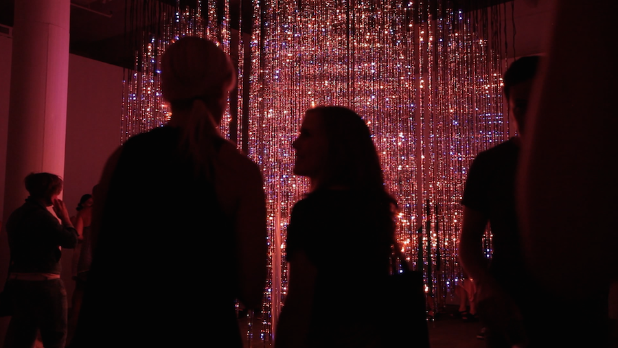 An Immersive Light Installation that Breathes with You