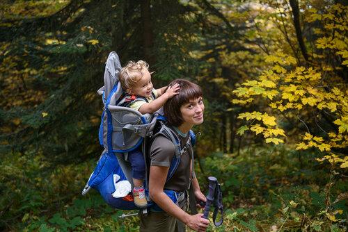 Поход с малышом 1 год и 4 месяца. Детский рюкзак-переноска Osprey Poco Plus