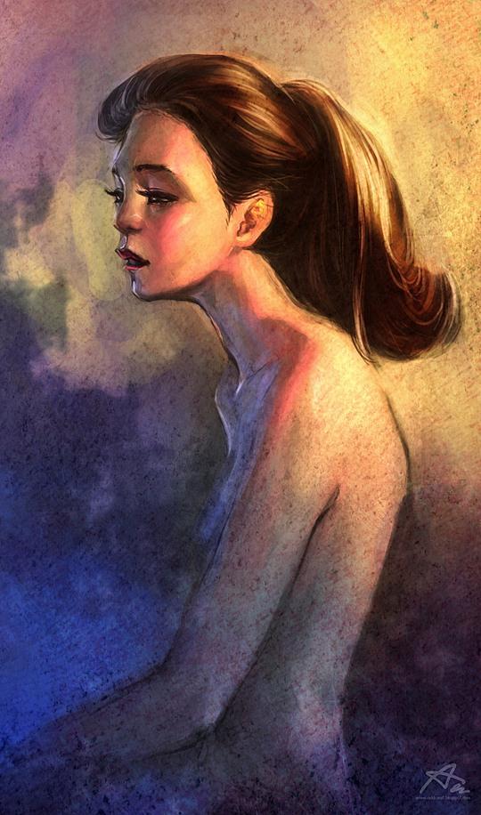 Colorful Portrait Illustrations by Akekarat Sumachaya