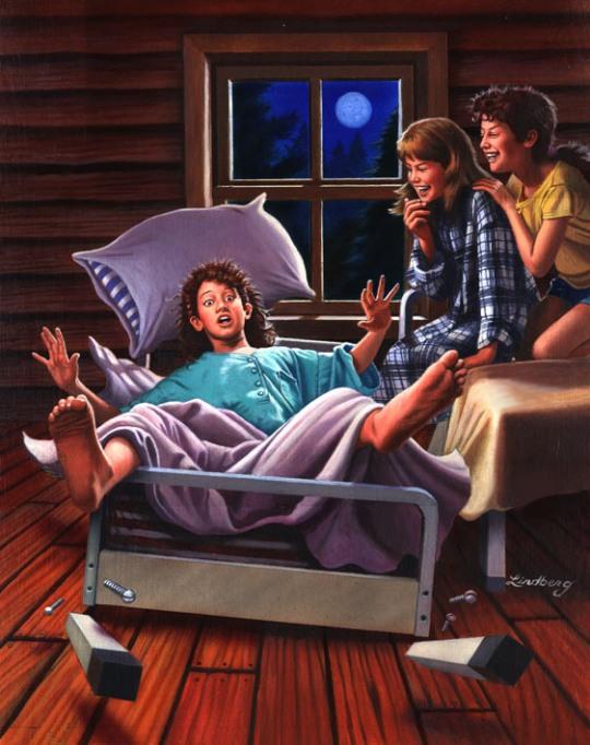 Retro Illustrations by Jeffrey Lindberg