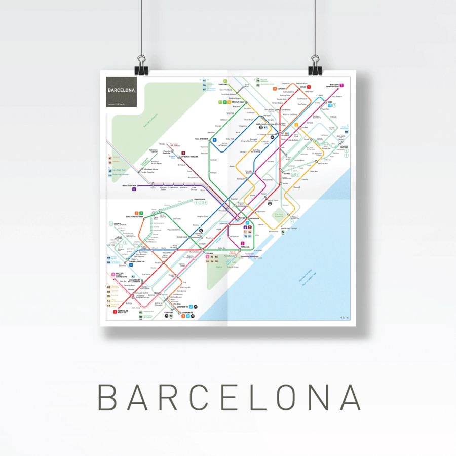 Efficient and Beautiful Metro Maps of World's Main Cities (13 pics)