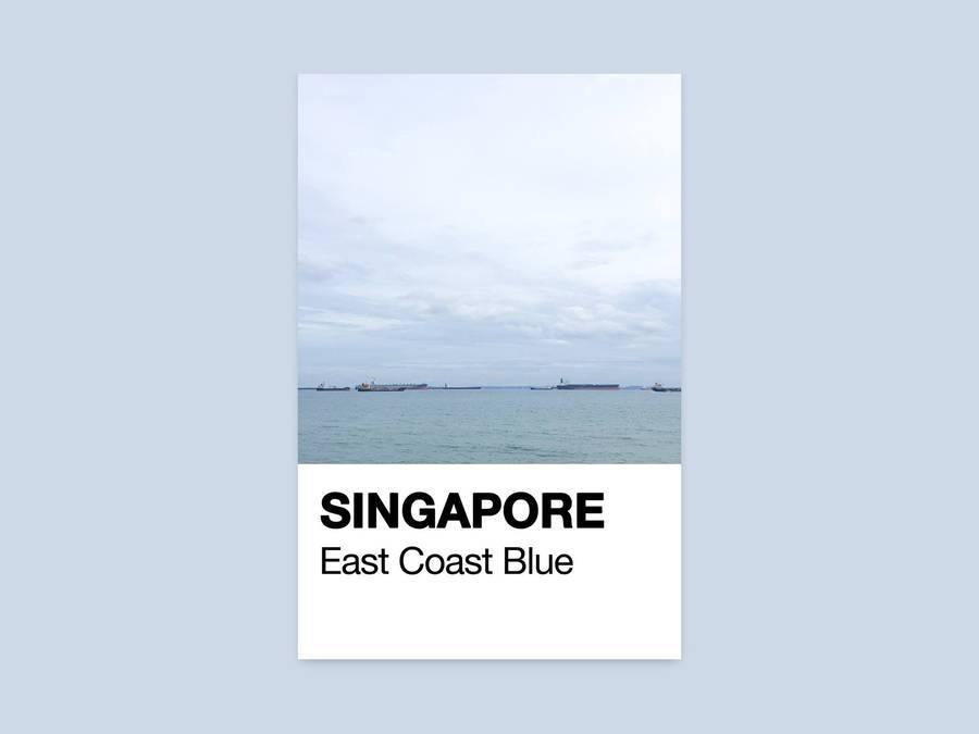 Singapore Through Pantone Cards (11 pics)