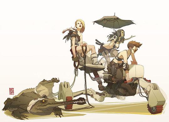 Creative Illustrations by Sergi Brosa