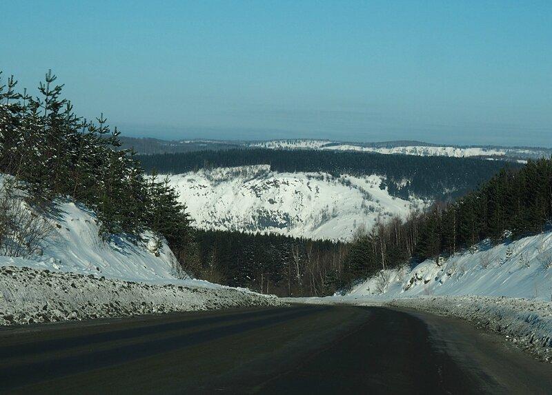 Россия - дорога по Горной Шории (Russia - on the road Mountain Shoria)
