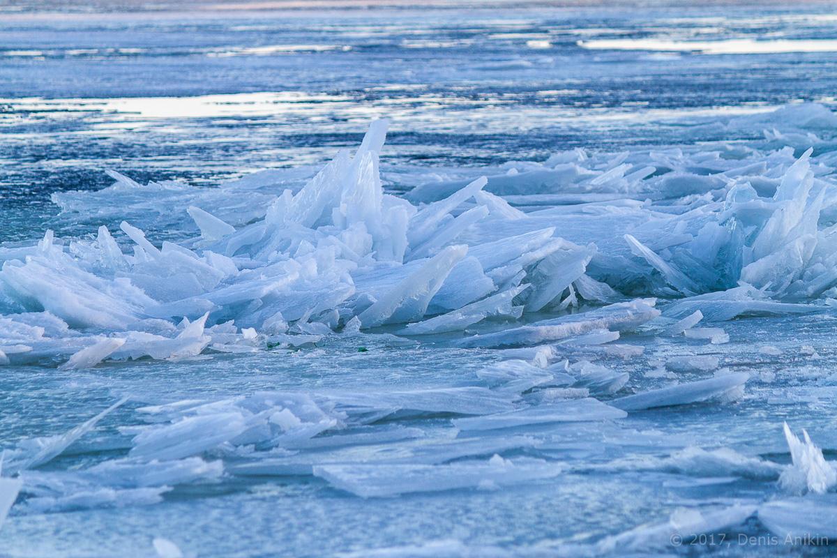 Волга весна лёд фото 9