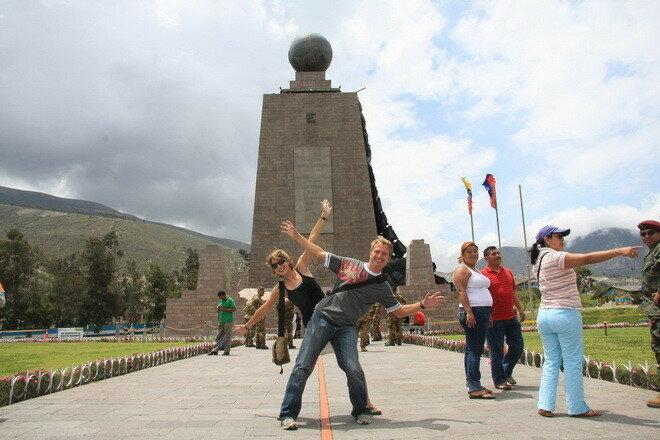 Экватор в Эквадоре