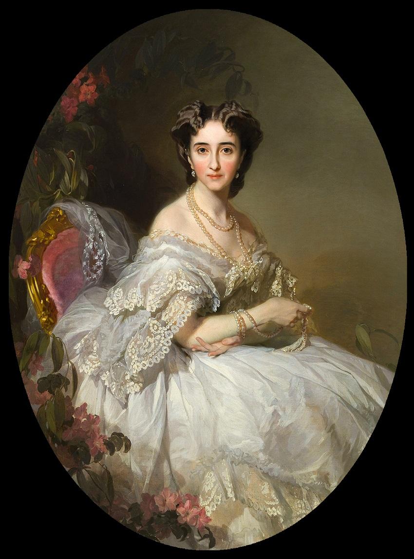 Анастасия Иосифовна Ушакова, урож. Кони (1824—1902)