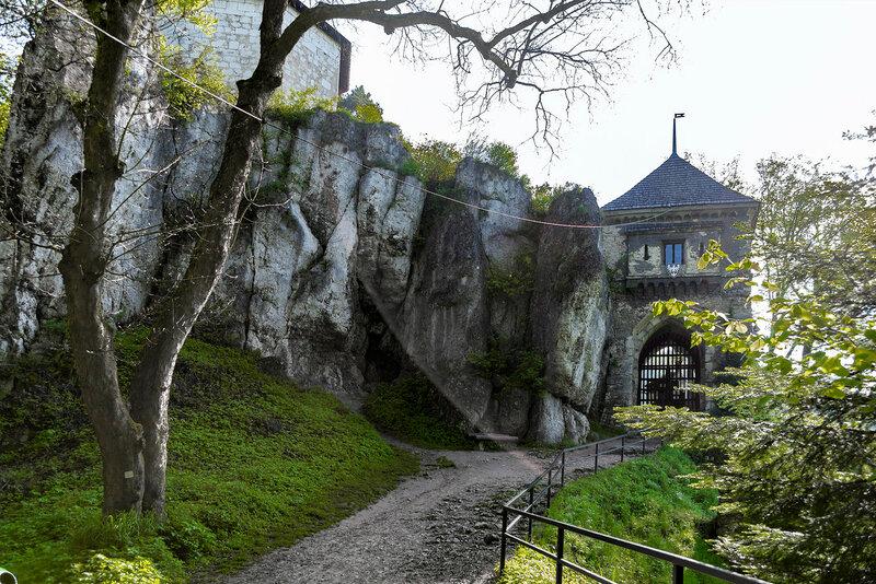 Польша. Ойцовский замок