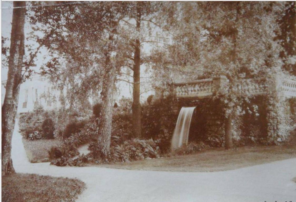 Каскад Рушник в Ропшинском парке