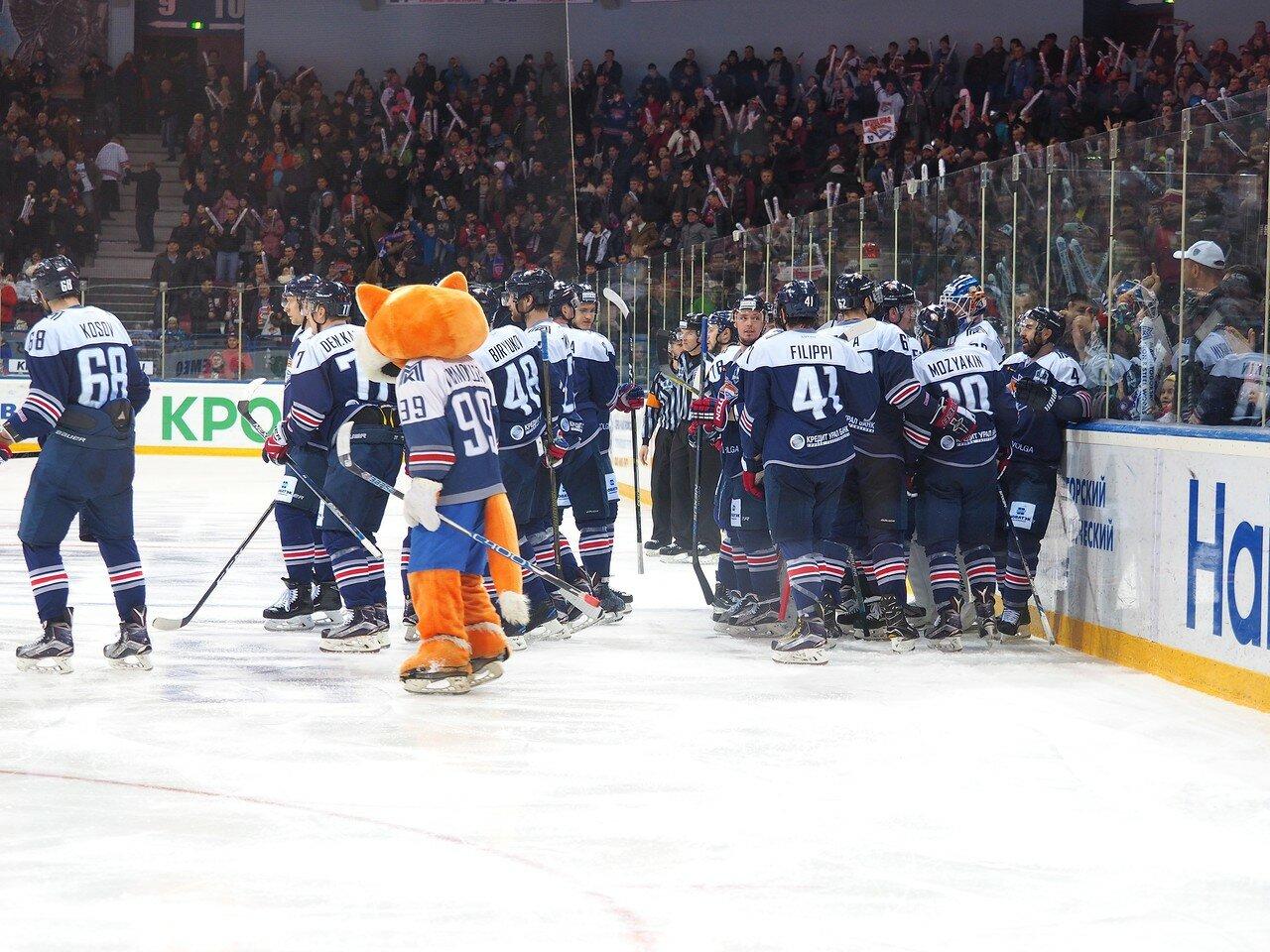132 Первая игра финала плей-офф восточной конференции 2017 Металлург - АкБарс 24.03.2017