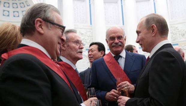 Путин и говно нации
