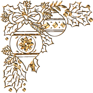 золотые уголки