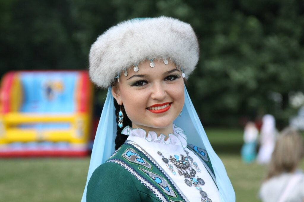 Сабантуй в Москве 2010 год