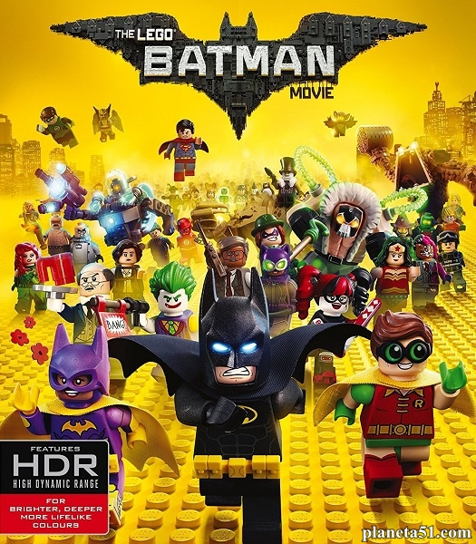 Лего Фильм: Бэтмен / The LEGO Batman Movie (2017/WEB-DL/WEB-DLRip)