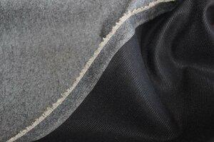 ТК061 ост.1,0м 850руб-м Костюмный твид продублированный (шерсть 90%,пэ 10%),цвет серый,ткань приятная на ощупь,держит форму,чуть суховата,для жакетов,юбок,курток,ширина 1,54м (3).JPG