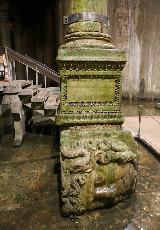 Istanbul. The Basilica Cistern (Yerebatan Sarnici). Jellyfish