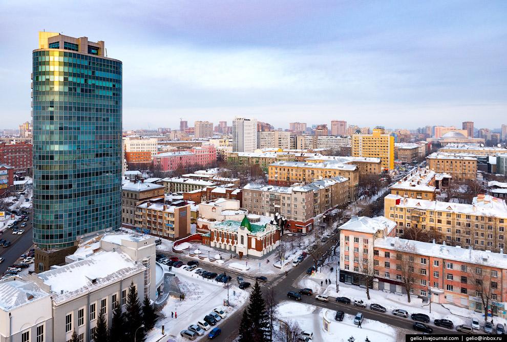 9. Деловая часть центра города.
