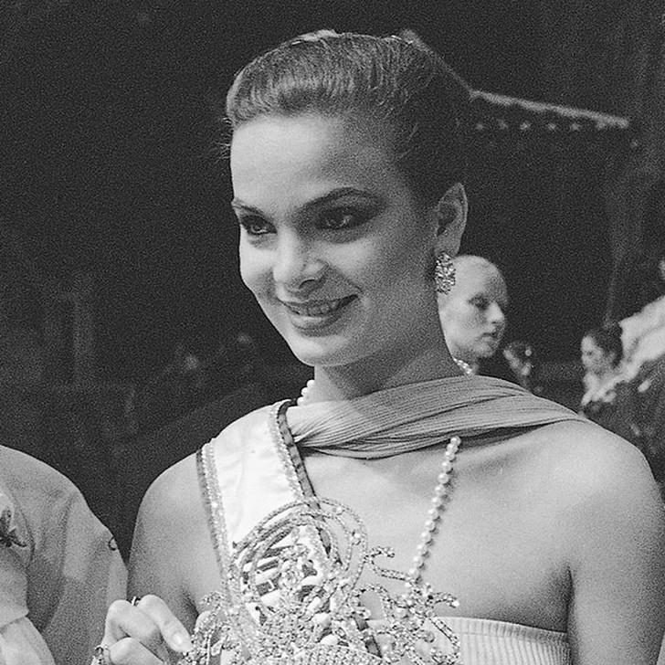 Марица Сайалеро, Венесуэла. «Мисс Вселенная — 1979». 18 лет, рост 173 см, параметры фигуры 90?60