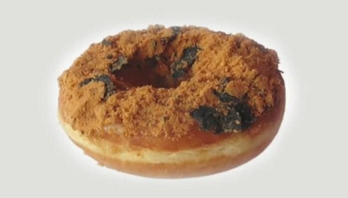 7. Пончик со свининой и морскими водорослями Dunkin' Donuts в Китае предлагает клиентам уникальную к