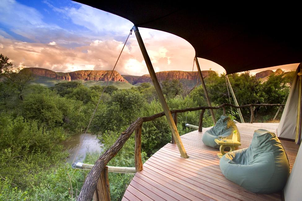Marataba – роскошный отель на территории заповедника в ЮАР (9 фото)