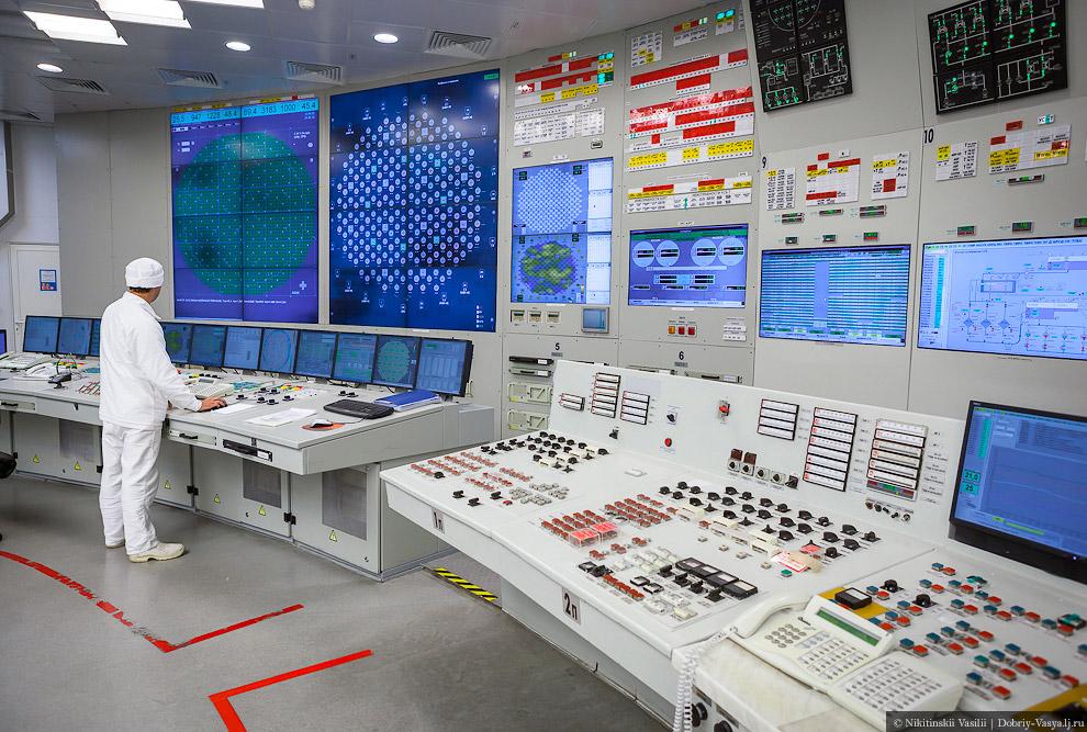 11. От количества кнопочек, схем, огоньков и мониторов рябит в глазах.