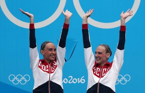 FINA признала Ищенко иРомашину лучшими синхронистками 2016 года